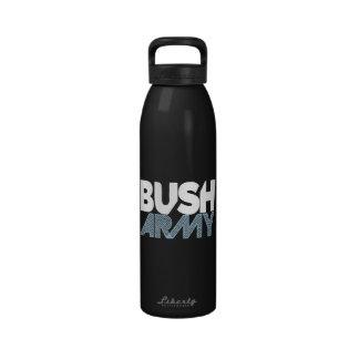 Botella de agua del ejército de Bush