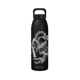 Botella de agua del escorpión