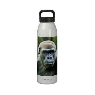 Botella de agua del gorila del Silverback