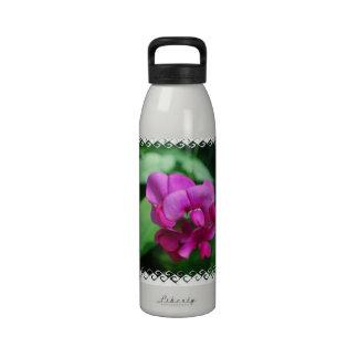 Botella de agua del guisante de olor
