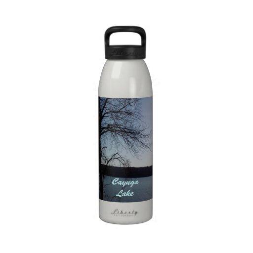 Botella de agua del LAGO del CAYUGA