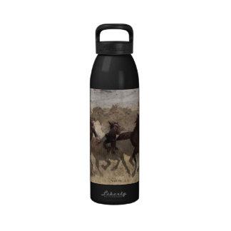 Botella de agua del lavabo de la arena