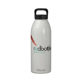 Botella de agua del Logotipo-ed de RedBottle luz