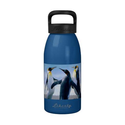 Botella de agua del muchacho