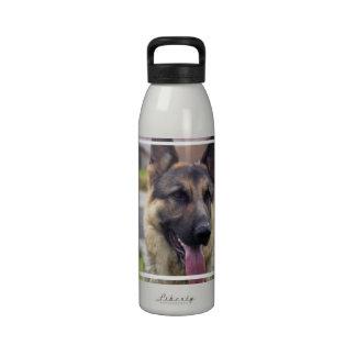 Botella de agua del pastor