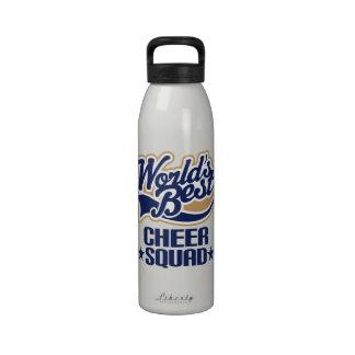 Botella de agua del pelotón de la alegría