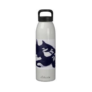 Botella de agua del pelotón de la vaina de la orca