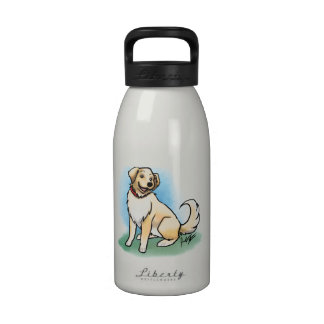 Botella de agua del perro perdiguero de Godlen