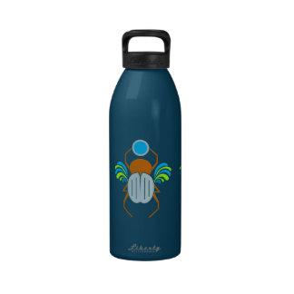 Botella de agua del personalizado del escarabajo