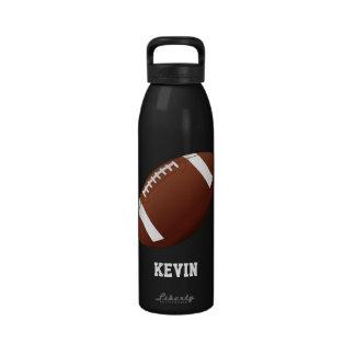 Botella de agua del personalizado del fútbol