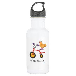 Botella de agua del polluelo del motorista