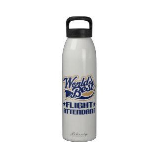 Botella de agua del regalo del asistente de vuelo
