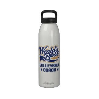 Botella de agua del regalo del coche del voleibol