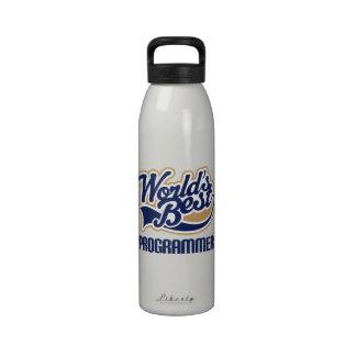 Botella de agua del regalo del programador