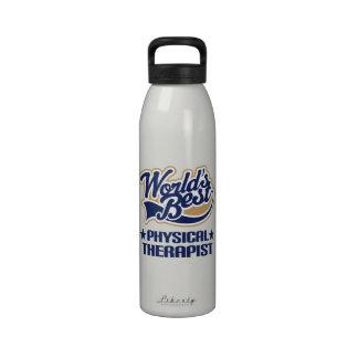 Botella de agua del regalo del terapeuta físico