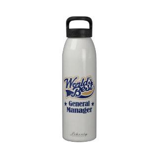 Botella de agua del regalo director general