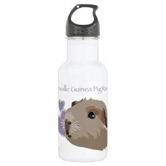 Botella de agua del rescate del conejillo de