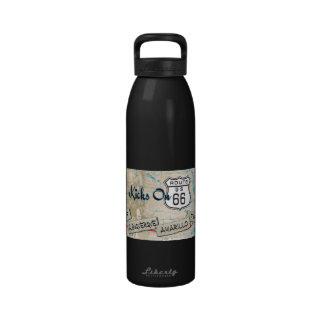 Botella de agua del Rt 66