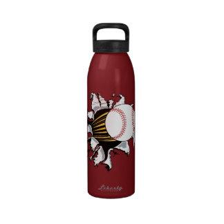 Botella de agua del separador del béisbol