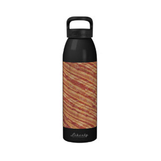 Botella de agua del tocino