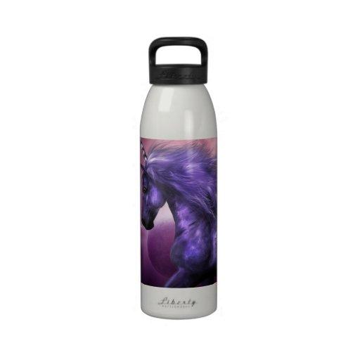 Botella de agua del unicornio
