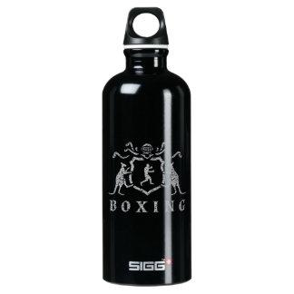 Botella de agua del viajero del blasón del boxeo
