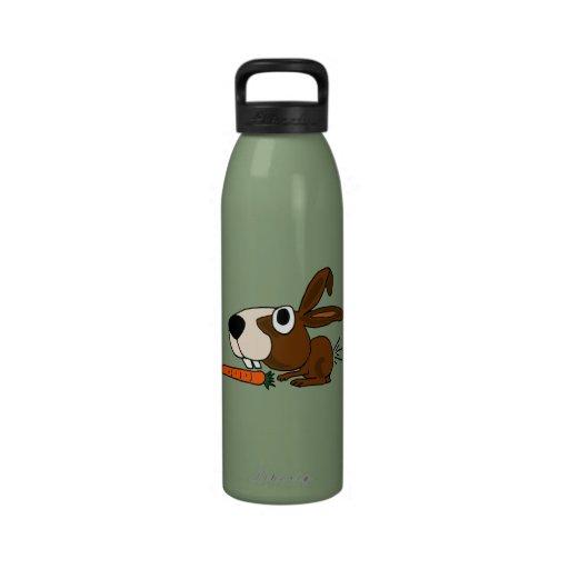 Botella de agua divertida del conejo de conejito A