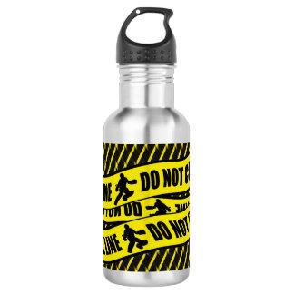 Botella de agua divertida del diseño del portero