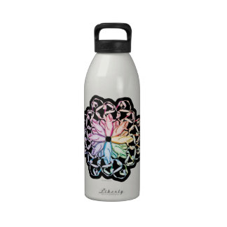 Botella de agua (espectral) del modelo del ballet