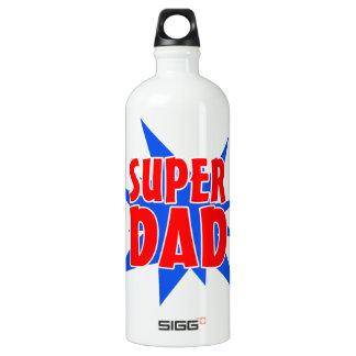 Botella de agua estupenda del papá del día de