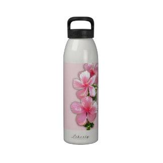Botella de agua hawaiana rosada de la libertad del