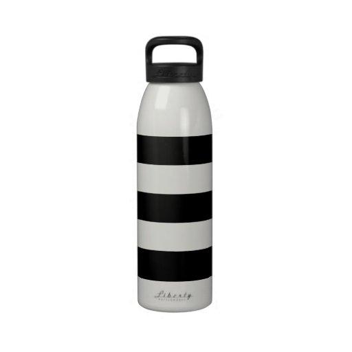 Botella de agua horizontal gruesa del aluminio de