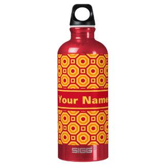 Botella de agua jerarquizada caliente de los