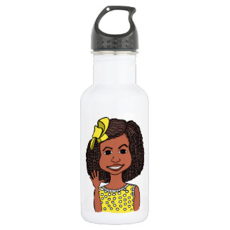 Botella de agua locuaz