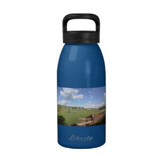Botella de agua panorámica personalizada del alumi