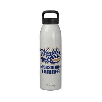Botella de agua personal del regalo del instructor