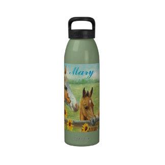 Botella de agua personalizada de la pintura del ca