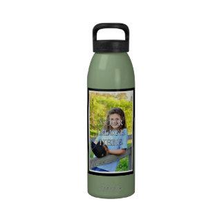 Botella de agua personalizada de los deportes