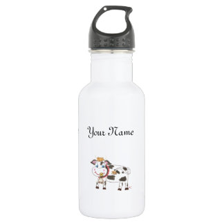 Botella de agua personalizada niño suizo de la