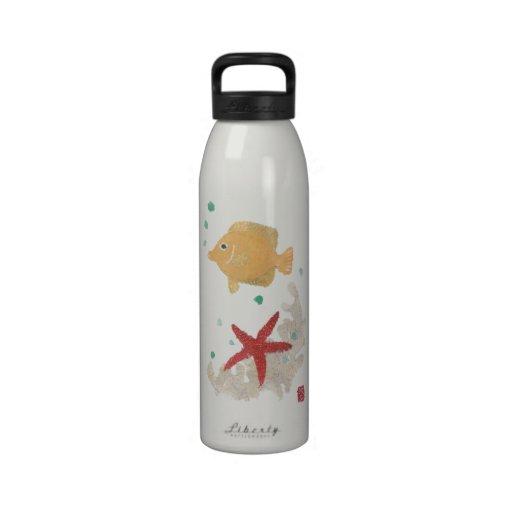 Botella de agua reutilizable del Angelfish y de la