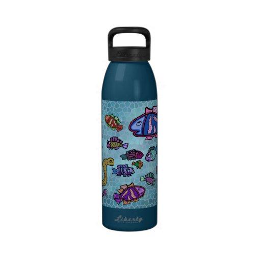 Botella de agua subacuática de Sealife