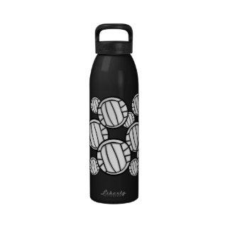 Botella de agua - voleibol