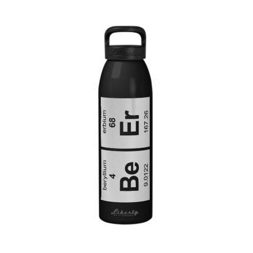 Botella de cerveza botellas de agua reutilizables