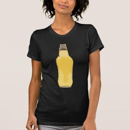 Botella de cerveza camiseta