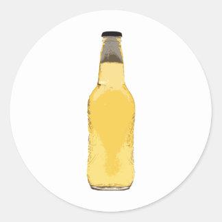 Botella de cerveza pegatinas