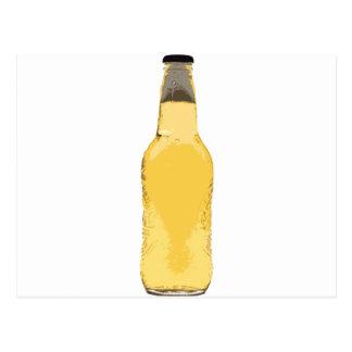 Botella de cerveza postales