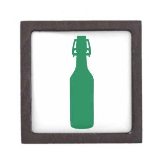 Botella de cerveza verde caja de regalo de calidad