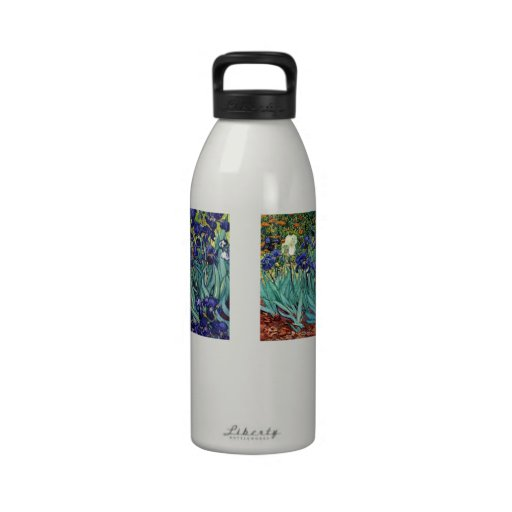 Botella de consumición de la libertad de Van Goghs Botella De Beber