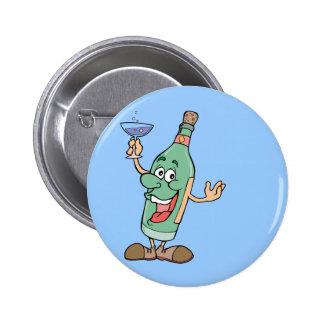 Botella de consumición - juego de palabra pin