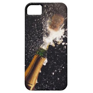 Botella de estallido del champán iPhone 5 fundas